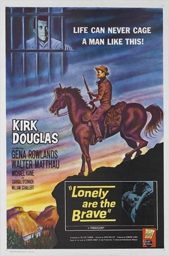 Lonely Are the Brave poster