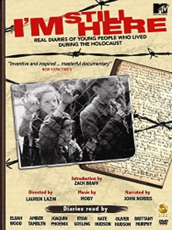 Poster of I'm Still Here: Real Diaries of Young People Who Lived During the Holocaust