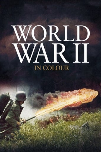 Poster of World War II In HD Colour