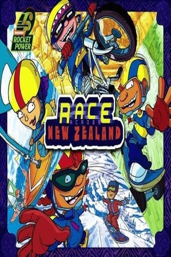 Poster of Rocket Power: Race Across New Zealand