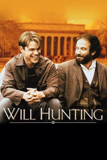 Poster of El indomable Will Hunting