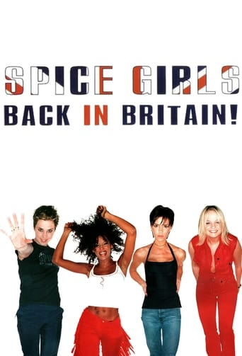 Poster of Spice Girls: Back In Britain!