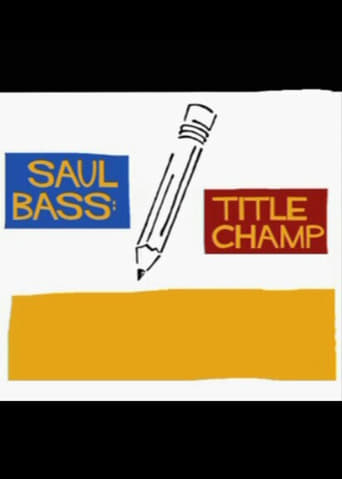 Poster of Saul Bass: Title Champ