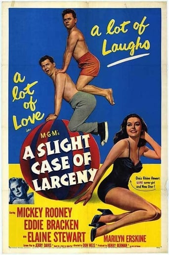Poster of A Slight Case of Larceny