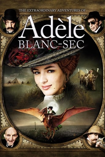 Poster of The Extraordinary Adventures of Adèle Blanc-Sec