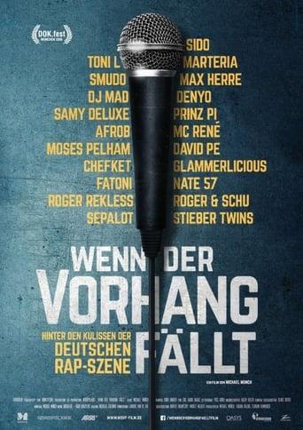 Poster of Wenn der Vorhang fällt