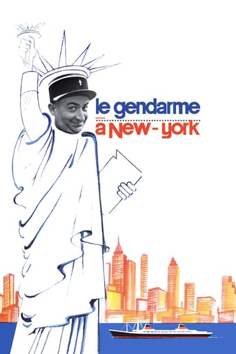Poster of The Gendarme in New York