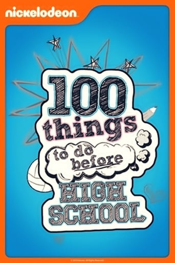 Poster of 100 Things to Do Before High School