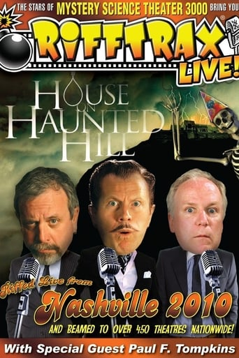 Poster of RiffTrax: LIVE! House on Haunted Hill