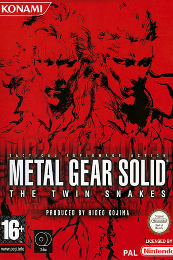 Poster of Metal Gear Solid: The Twin Snakes