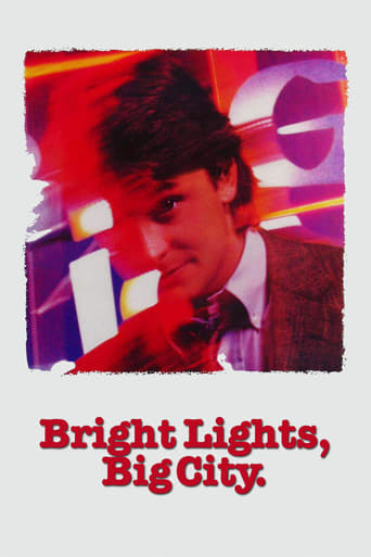 Poster of Bright Lights, Big City