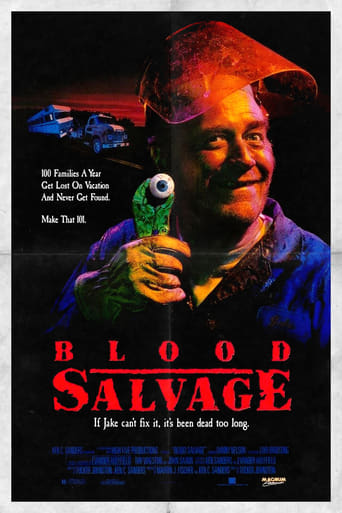 Poster of Blood Salvage