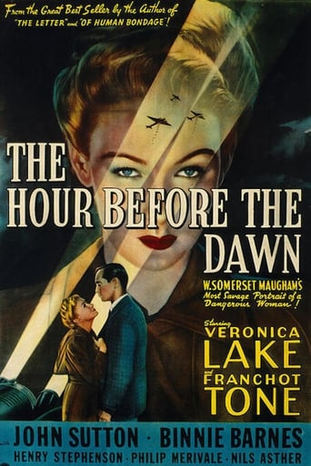 Poster of The Hour Before the Dawn