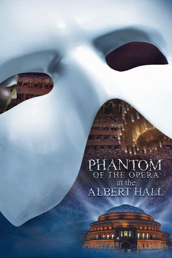 Poster of The Phantom of the Opera at the Royal Albert Hall