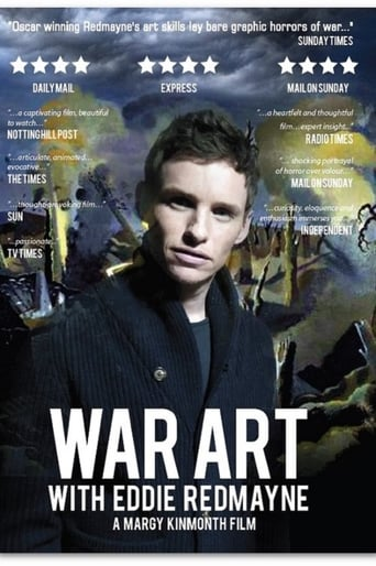 Poster of War Art with Eddie Redmayne