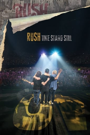 Poster of Rush: Time Stand Still