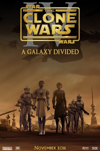 Poster of The Clone Wars - Episode IV: A Galaxy Divided