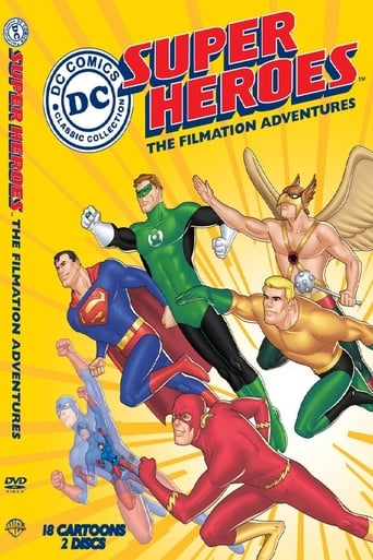 Poster of DC Super Heroes: The Filmation Adventures