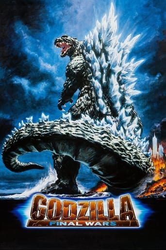 Poster of Godzilla: Final Wars
