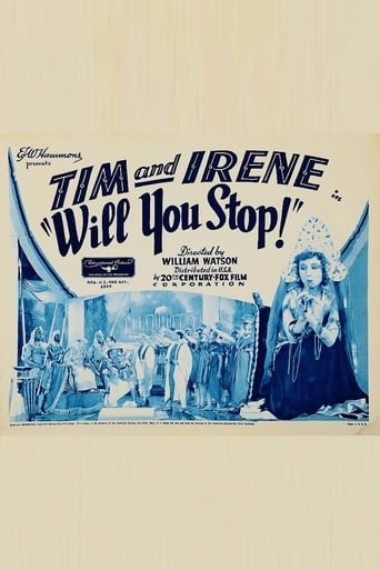 Poster of Will You Stop?