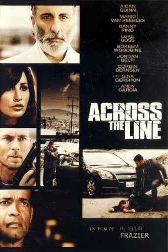 Poster of Across the Line: The Exodus of Charlie Wright