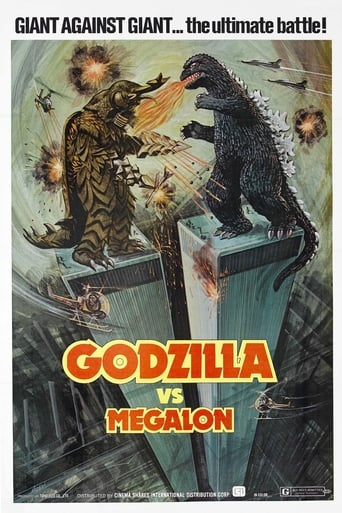 Poster of Godzilla vs. Megalon