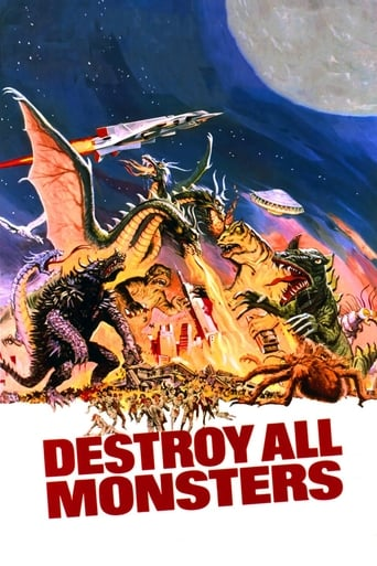 Poster of Destroy All Monsters