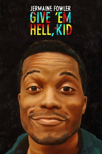Poster of Jermaine Fowler: Give 'Em Hell, Kid