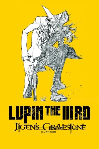 Poster of Lupin the Third: Jigen's Gravestone