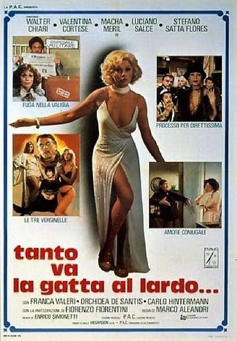 Poster of Tanto va la gatta al lardo...