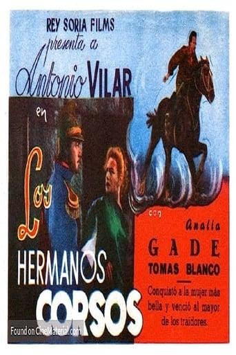 Poster of Los hermanos corsos