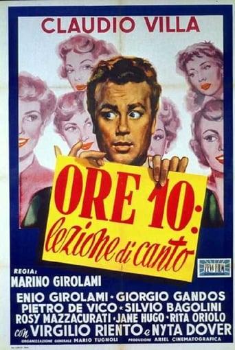Poster of Ore 10: lezione di canto