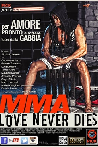 MMA Love Never Dies poster