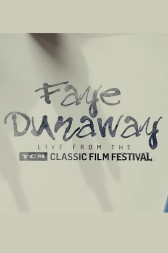 Poster of Faye Dunaway: Live from the TCM Classic Film Festival