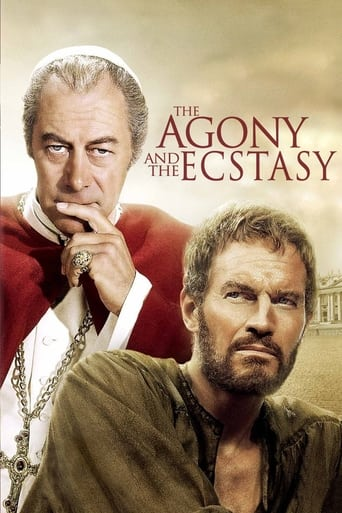 Poster of The Agony and the Ecstasy