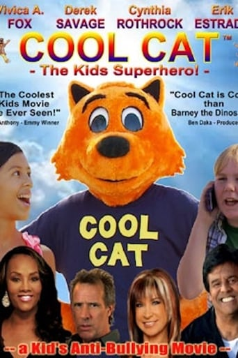 Cool Cat Kids Superhero poster