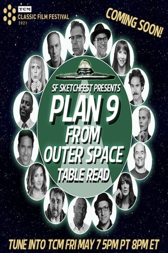 Poster of SF Sketchfest Presents PLAN 9 FROM OUTER SPACE Table Read