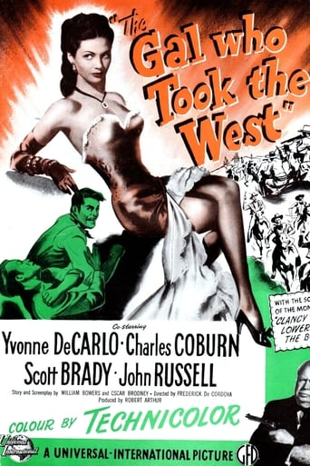 Poster of The Gal Who Took the West
