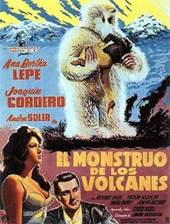 Poster of The Monster of the Volcano