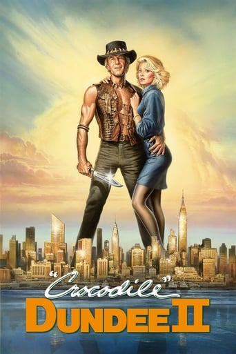 Poster of Crocodile Dundee II