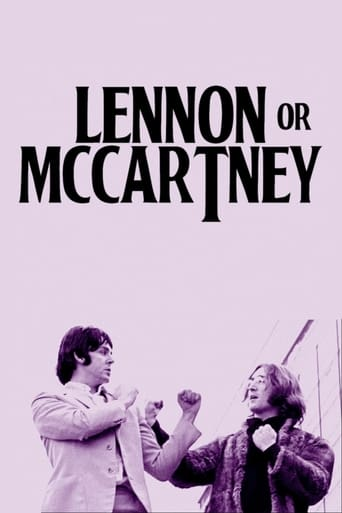 Poster of Lennon or McCartney
