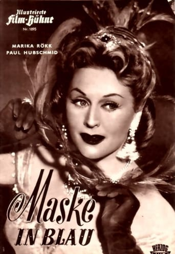 Poster of Mask in Blue