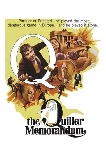 Poster of The Quiller Memorandum
