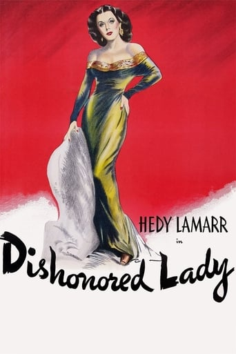Poster of Dishonored Lady