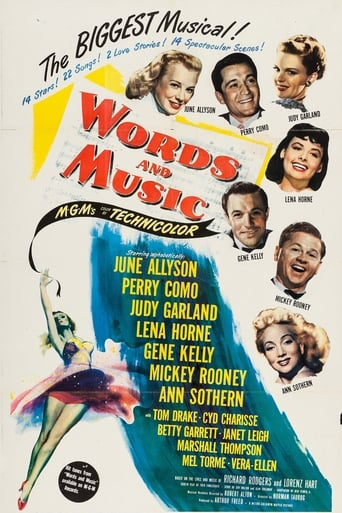 Poster of Words and Music