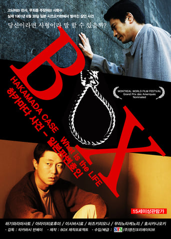 Poster of Box: Hakamada Case - What is the Life
