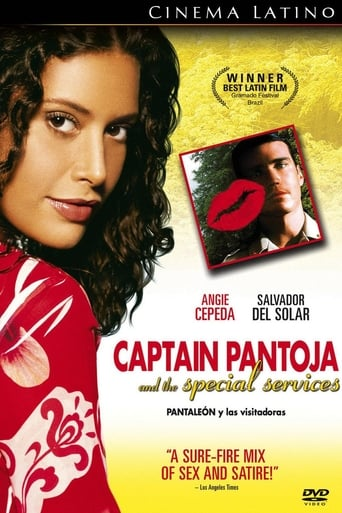 Poster of Captain Pantoja and the Special Services