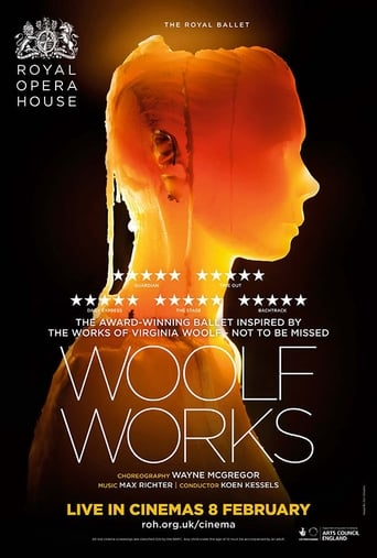 Poster of The ROH Live: Woolf Works