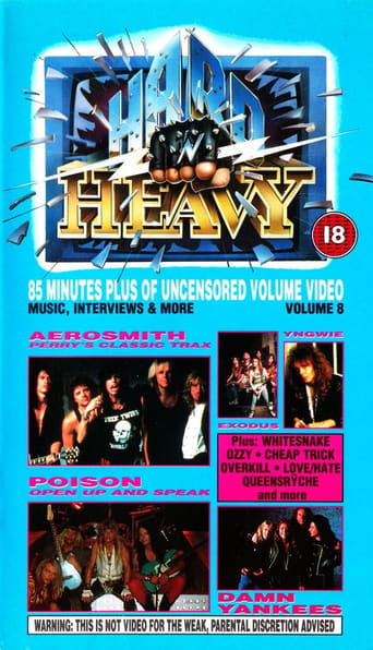Poster of Hard 'N Heavy Volume 8