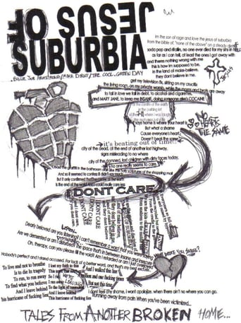 Poster of Jesus Of Suburbia